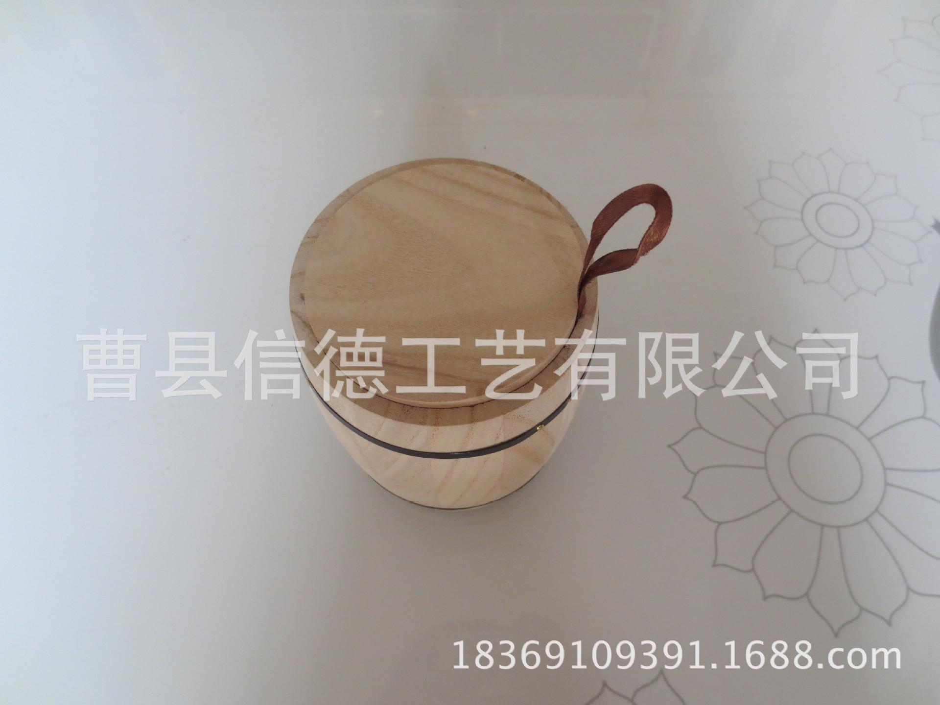 厂家大量批发定制订购桐木茶叶盒木质茶业罐本色茶叶筒