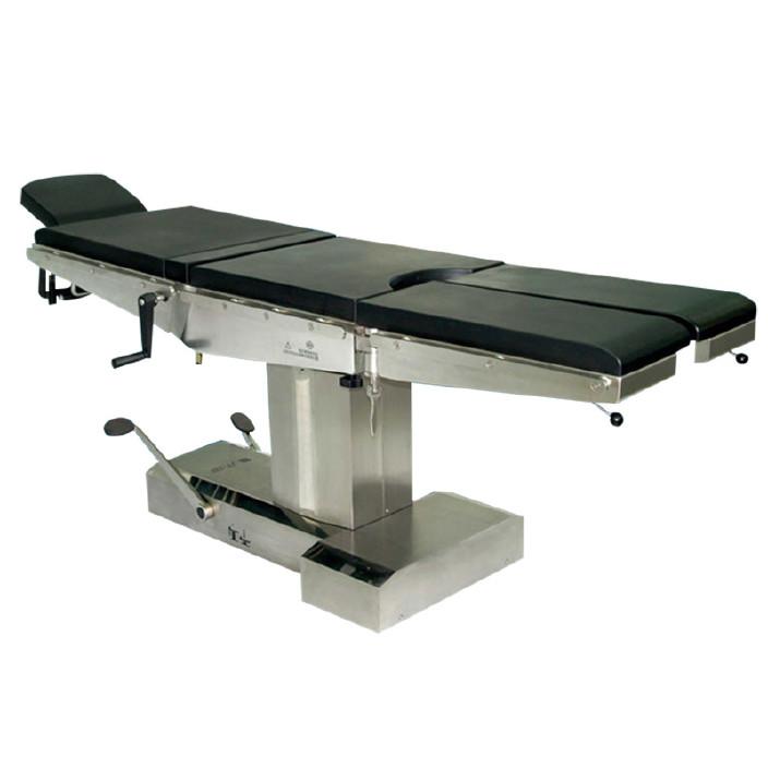 现货供应益生电动手术床JT-2B 多功能不锈钢护理床 机械手术台