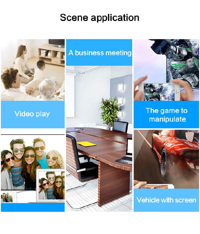电视连接小米投影仪安卓苹果转hdmiiPhonei手机手机字变大了怎么办图片