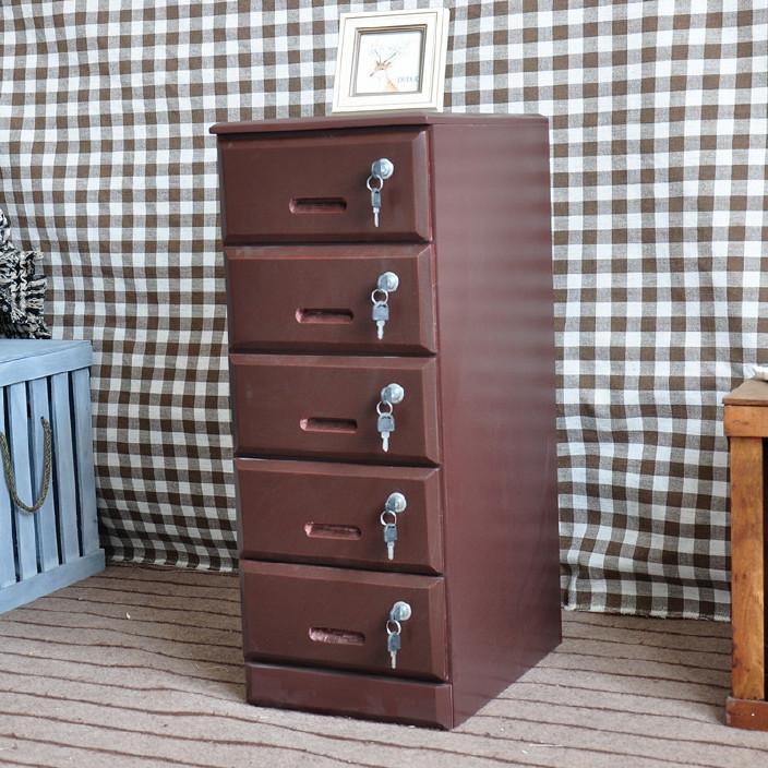 厂家定做批发木制文件柜带锁木质5门书柜 落地文件柜资料柜