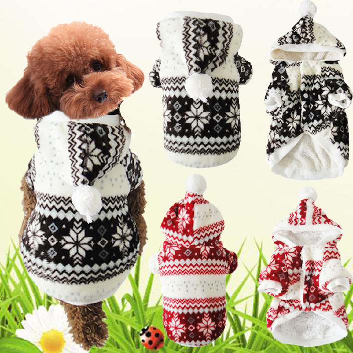 亚马逊人宠物衣服 雪花保暖宠物棉衣 小狗衣服 小额批发宠物服装图片