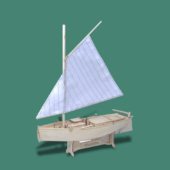 菲莱特号套件拼装木质模型帆船DIY西洋古船玩图纸心电图v套件图片