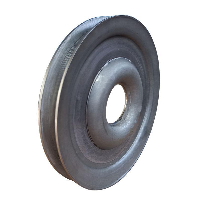 厂家直销熟铁轮单槽劈开式皮带轮尺寸精准外观精致质量保证示例图2