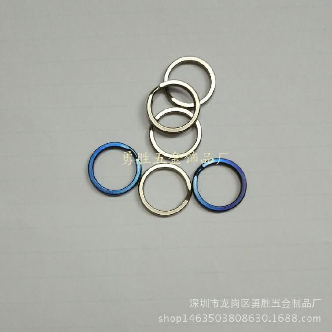廠家直銷 18mm鈦鑰匙圈  鈦合金掛扣 鈦鑰匙環 登山扣