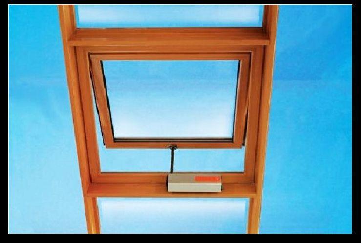 铝合金天窗 屋顶采光天窗 别墅阳光房天窗 铝合金电动天窗厂家图片