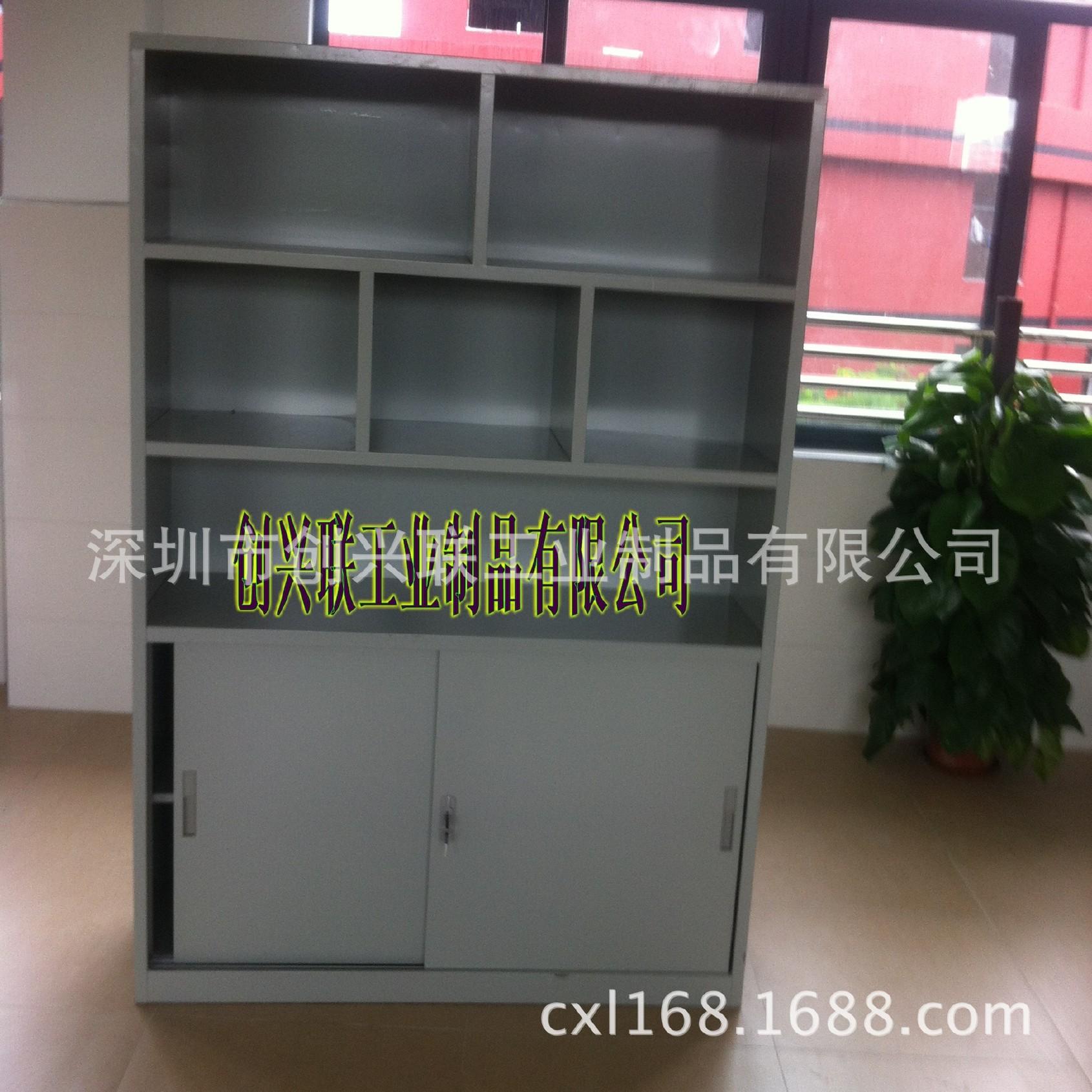 长期供应 钢制铁皮柜文件柜 优质铁质储物柜 量大从优