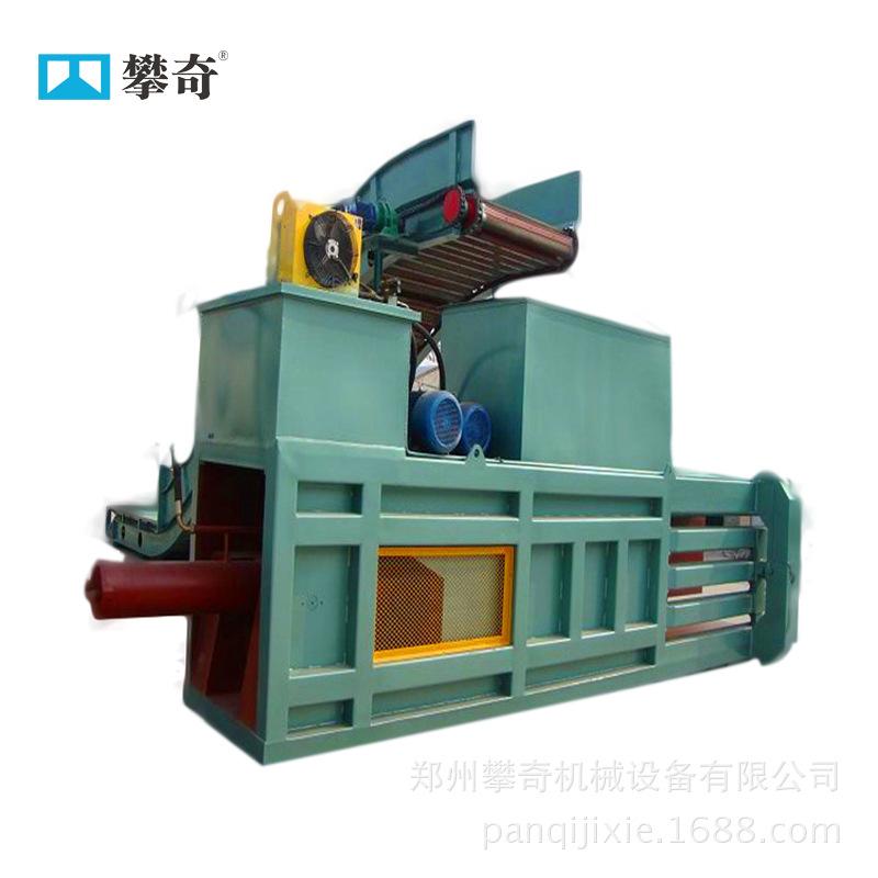 供应全自动液压打包机 纸箱秸秆打包机 卧式废纸打捆机示例图3