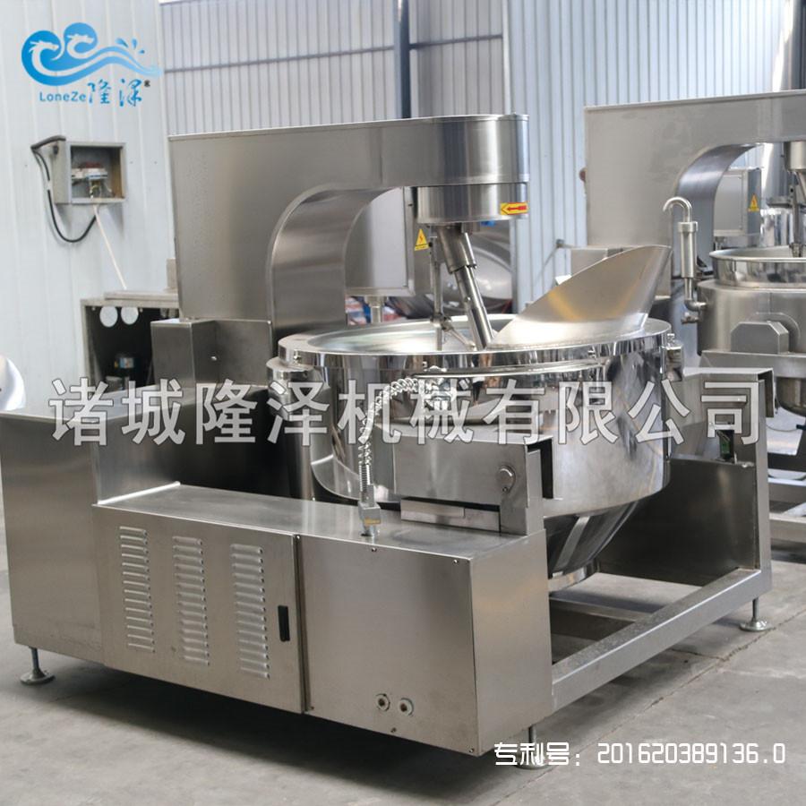 隆泽机械(多图) 蒜蓉辣椒酱炒锅图片 辣椒酱炒锅示例图4