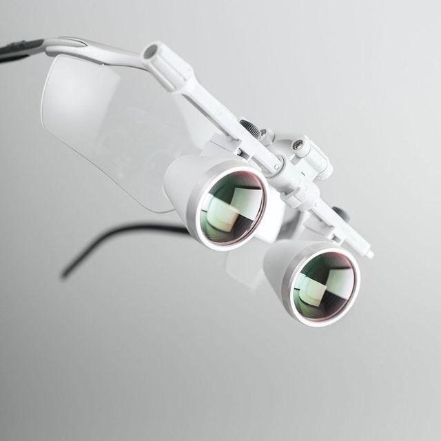 HEINE手术放大镜,德国HEINE,手术头灯HR2.5X眼镜式420MM工作距离,德国海涅放大镜头灯