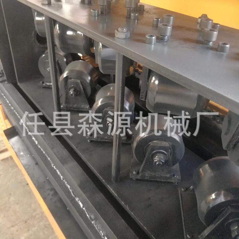 特惠钢筋和预应力机械钢管调直除锈喷漆一体机钢管调直示例图10