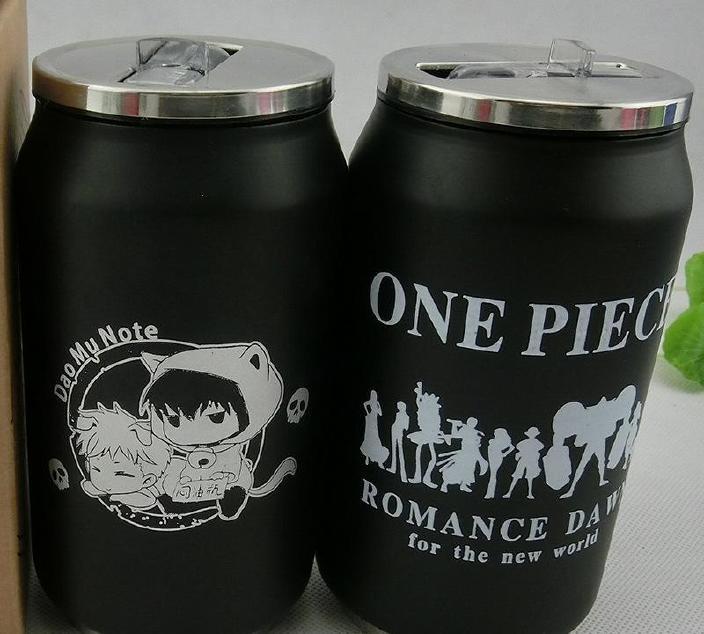 厂家批发不锈钢真空易拉罐保温杯个性 DIY热升华 动漫定制可乐杯图片