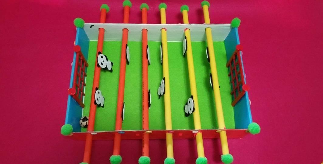 幼儿园区角游戏自制玩教具 幼儿园手工制作桌