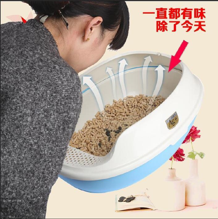 天然松木木屑仓鼠去味除臭无猫砂粉尘猫砂鲨鱼木粒垫料宠物用品bape猫砂比克图片