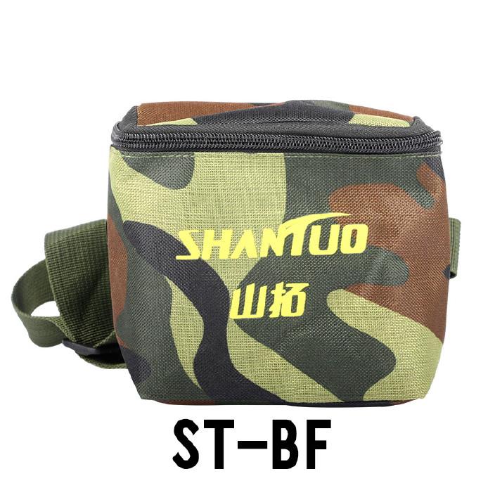 山拓户外专用头灯布包迷彩防水头灯包ST-BF/方形1号10-12锂电包