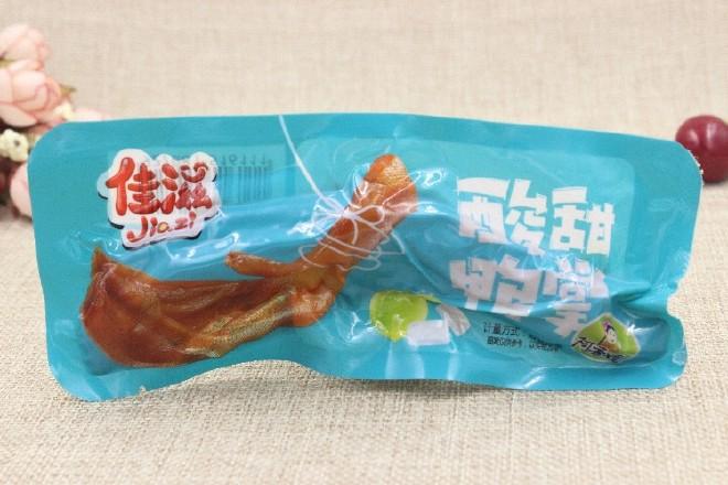 阿香嫂鸭掌大全酸辣鸭爪佳滋美味卤菜河蟹下油焖小卤味的做法酸甜图片