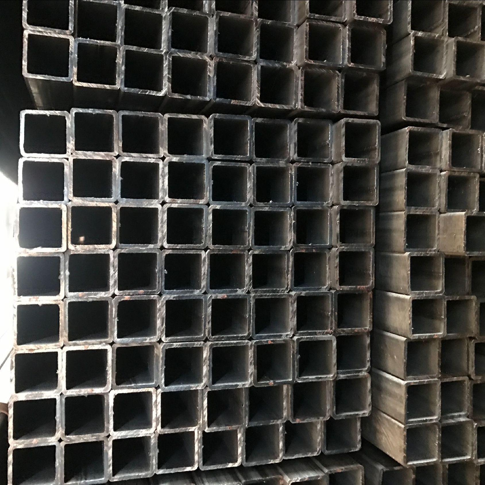 镀锌厚壁方管价格 无缝方管加工定做 20镀锌无缝方管厂家