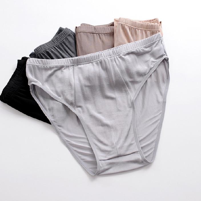 【2014夏季真丝面料中低腰男高清三角裤桌面性感性感女内裤图片