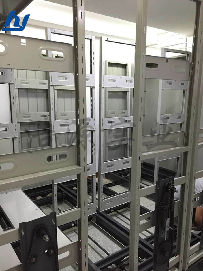 惠州密集架厂家 档案密集架 档案密集架 移动密集架 手摇密集架示例图5