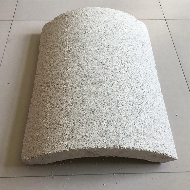 管道保温材料 珍珠岩保温管 管道保温建材 珍珠岩保温瓦壳厂家示例图5