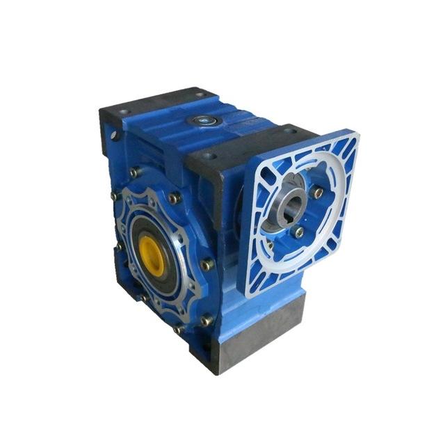 批發 廠家上坤 蝸輪蝸桿減速機 鋁合金減速機 鐵殼NMRV配方法蘭75 90 110 130 150速比7.5-100
