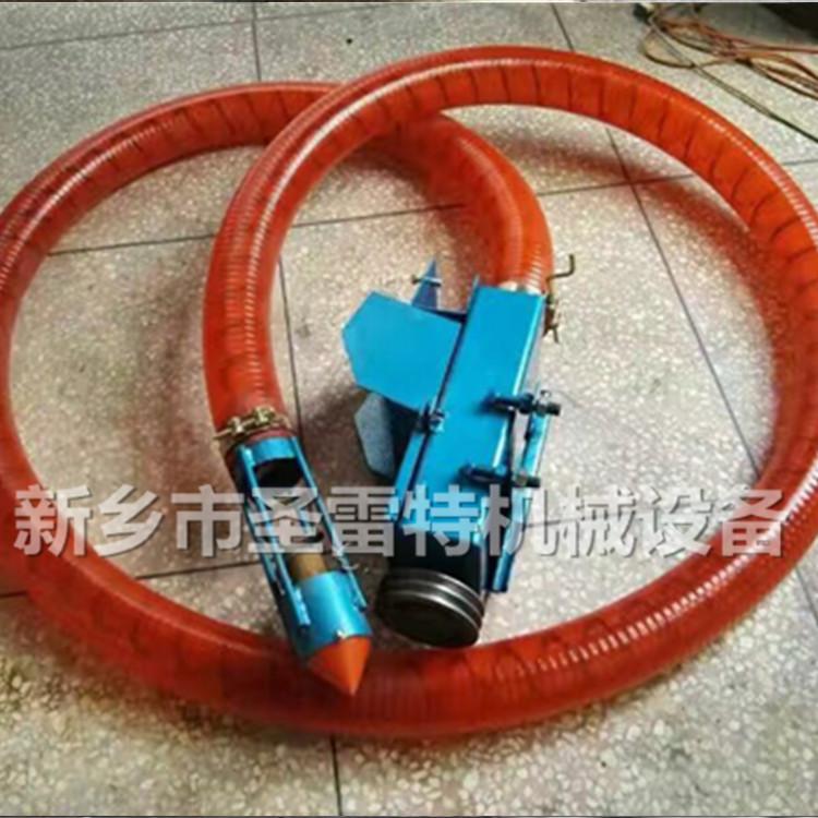 圣雷 應管徑100吸糧機彈簧葉片 75型螺旋葉片 車載抽糧機螺旋彈簧示例圖7