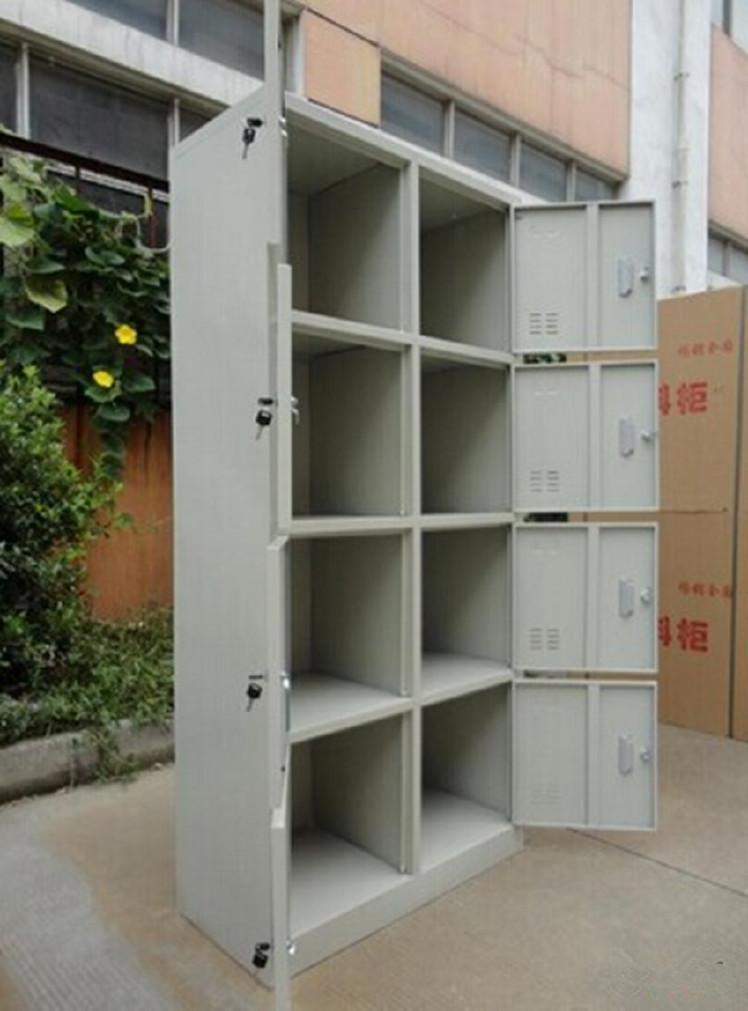 工厂员工带锁储物柜18门更衣鞋柜24门储物柜32门存包柜手机存放柜