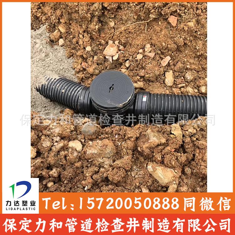 高密度聚乙烯HDPE双壁波纹管 塑料排污排水管示例图12