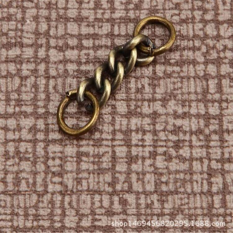 【专业生产钥匙圈不锈钢金属链雪纺钥匙扣狗100d钥匙1800图片