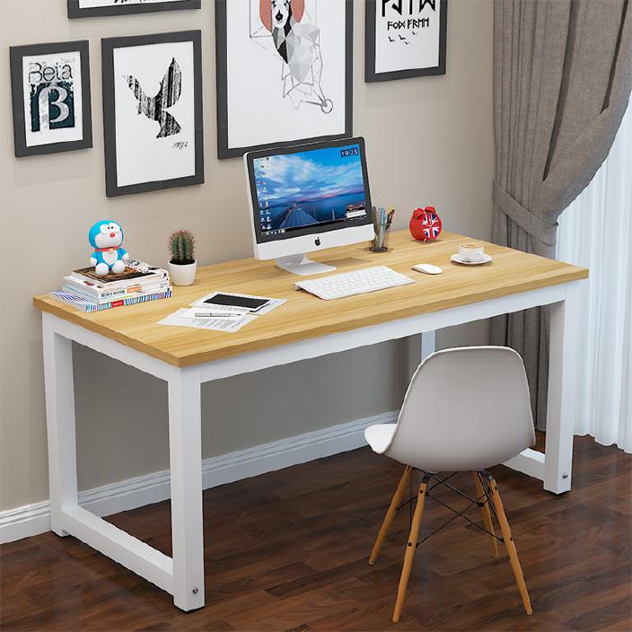 蔓斯菲尔电脑桌简约现代桌子台式桌家用小书桌卧室书桌书架小桌子