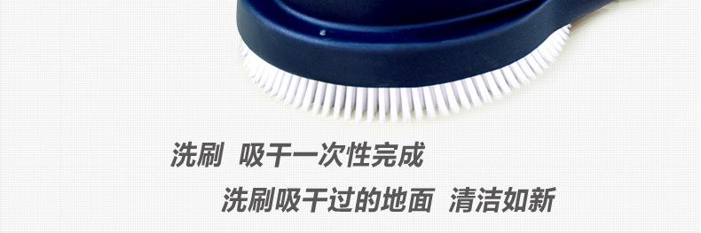 电瓶式洗地机 手推式工厂车间洗地机 用无线拖地机示例图11