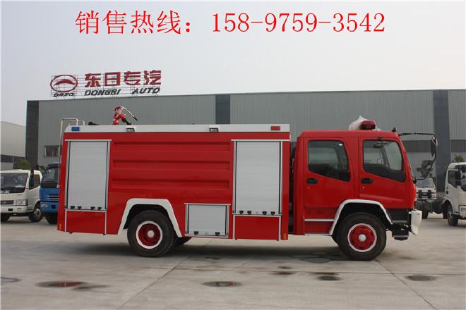 楚雄东风多利卡举高喷射消防车,抢险救援消防车图片