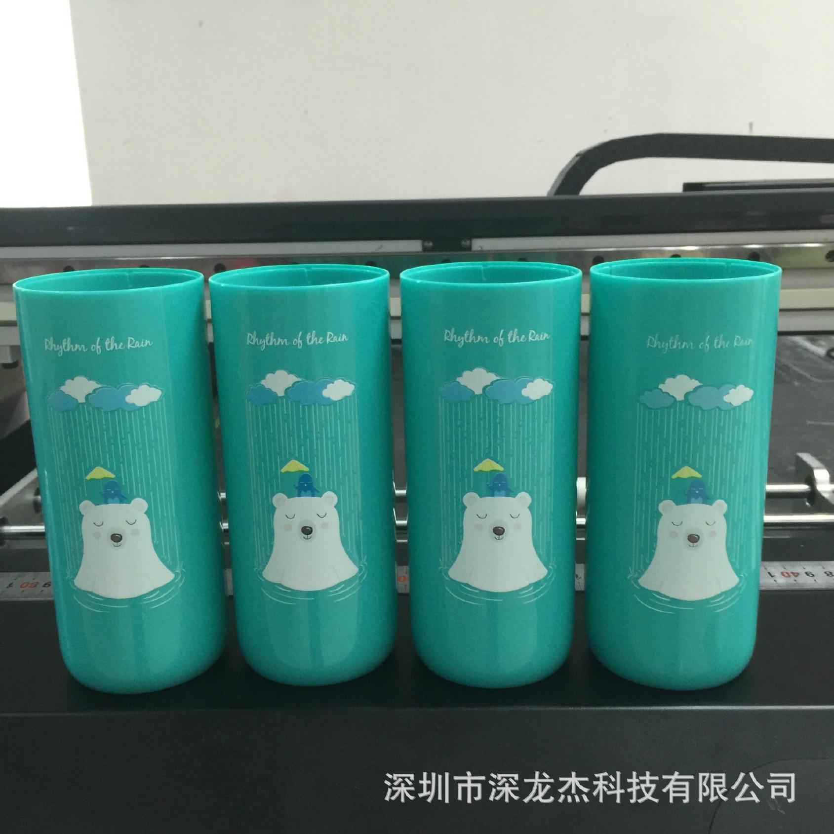 批量保温杯3D浮雕UV打印机个性化礼品定制设诚鑫源扶芳藤图片