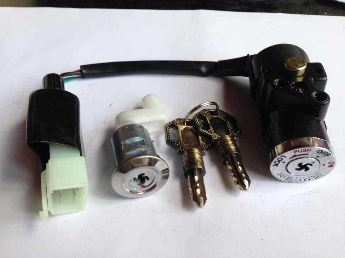 本田摩托車套鎖、電門鎖、單鎖