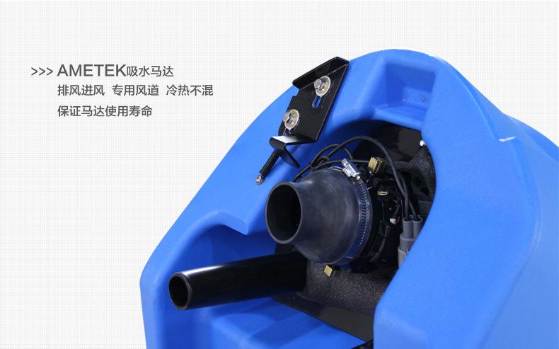 电瓶式洗地机 手推式工厂车间洗地机 用无线拖地机示例图9