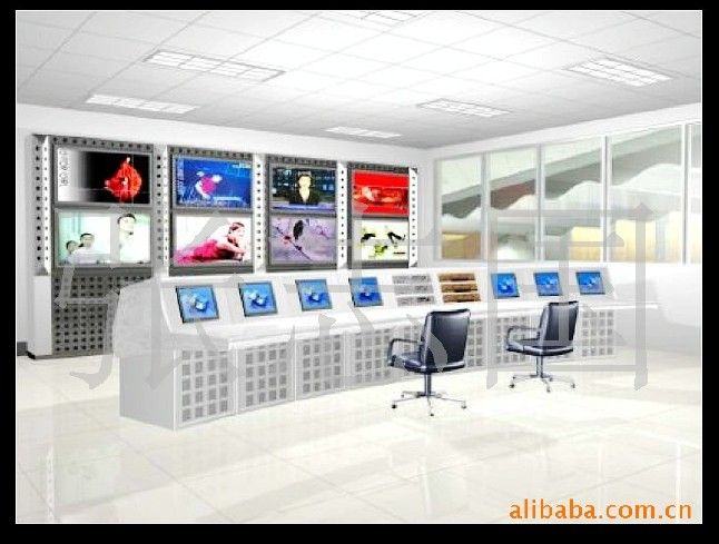 供应网络监控设备铁质 监控操作台多媒体电视墙 集成?#20302;?#20135;地货源