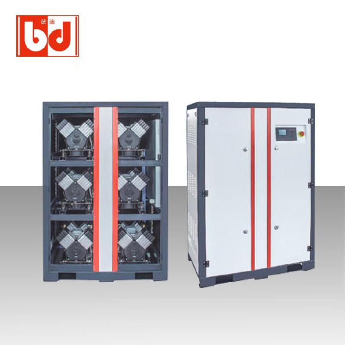 彼迪靜音空壓機BD50 6times;4VS無油靜音空壓機 低噪音大排量廠家直銷