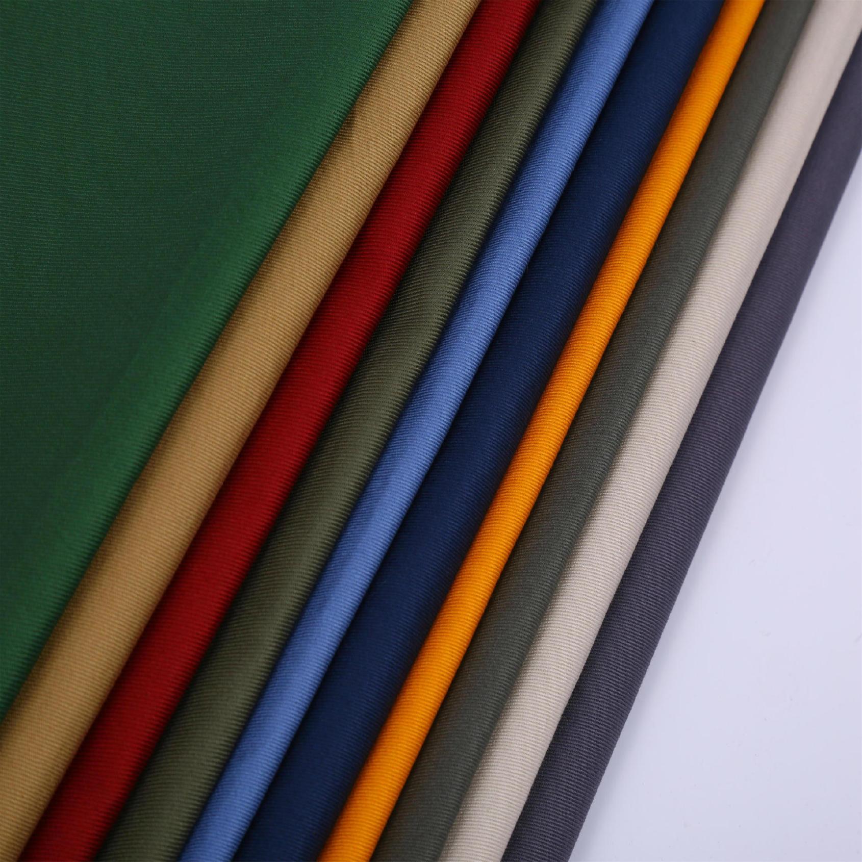 現貨供應230克全棉斜紋工裝布料勞保制服布料圖片