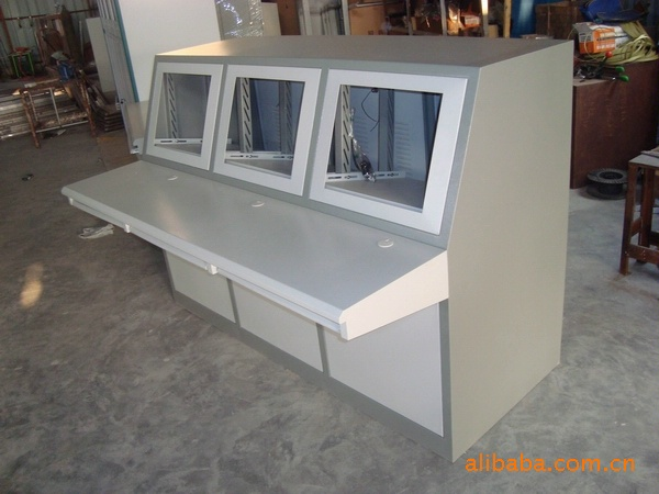 監控操作臺多媒體控制臺 供應電子監控設備鐵質 集成系統產地貨源 監控設備