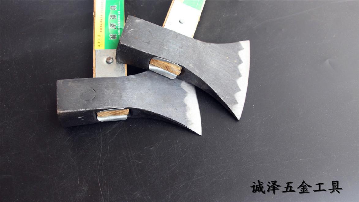 厂家直销批发建筑装饰五金工具诚泽牌烤蓝加固斧子1.8斤2.0斤示例图2