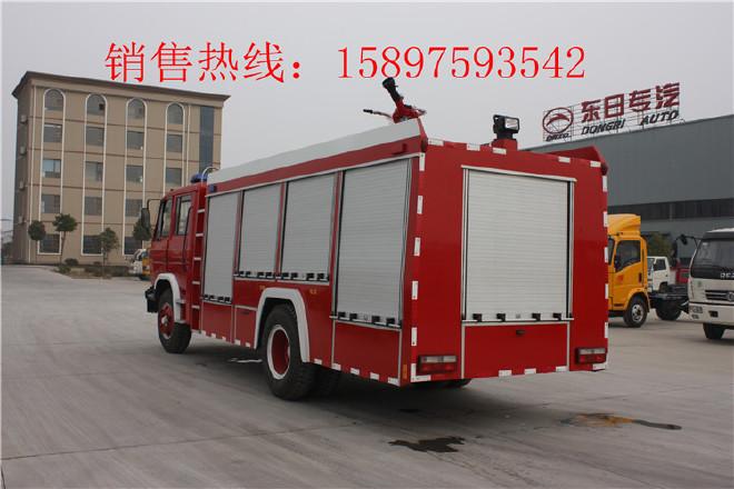 巴中东风瑞铃举高喷射消防车,抢险救援消防车图片