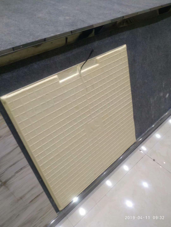 电热瓷砖电热地暖发热地砖电热地板砖电热地板聚氨酯高压发泡机示例图4