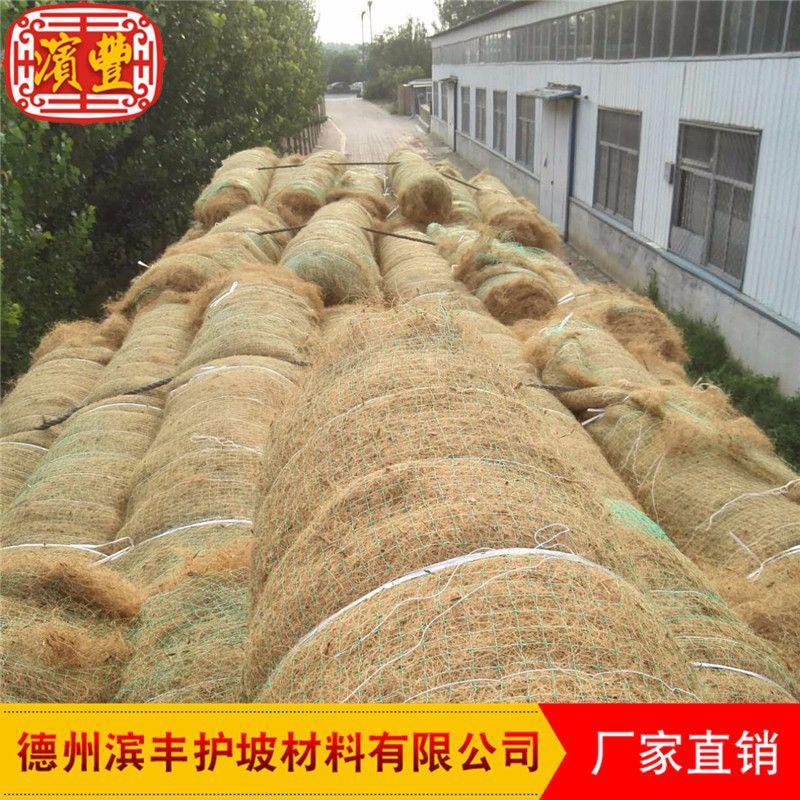滨丰生态毯 环保护坡 荒山治理 椰丝草毯 厂家直销示例图8