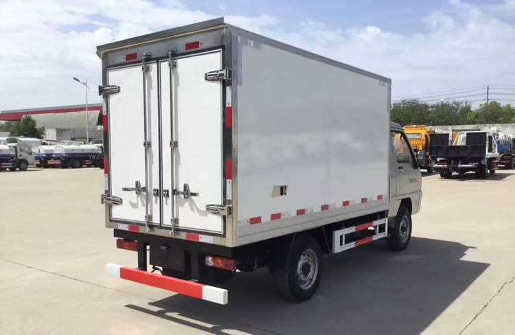 小型冷藏车,厢式冷藏车, 福田驭菱冷藏车,程力厂家示例图6