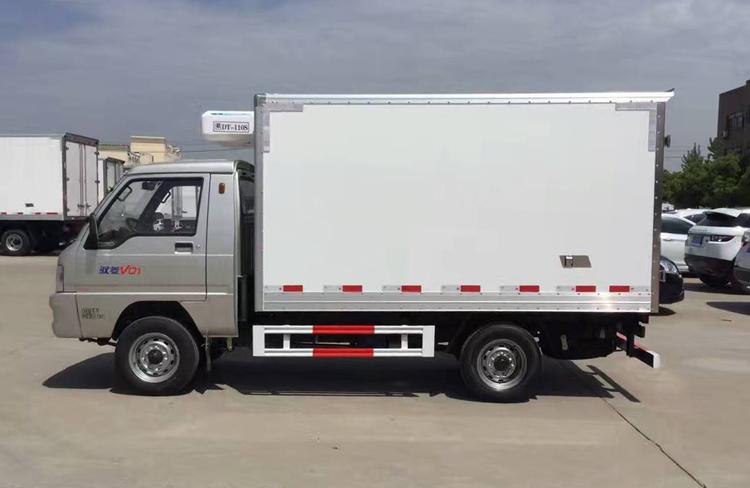 小型冷藏车,厢式冷藏车, 福田驭菱冷藏车,程力厂家示例图4