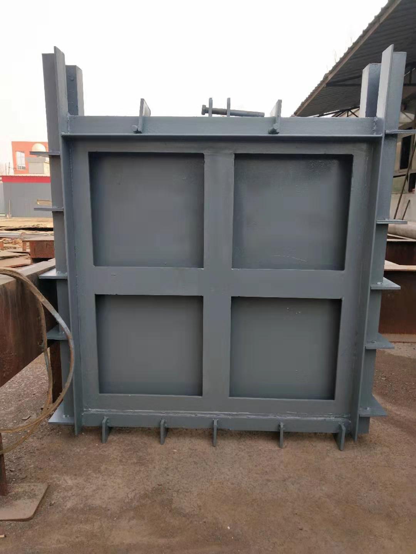 弘鑫水利 定制钢闸门 渠道钢闸门 平面型钢闸门示例图6
