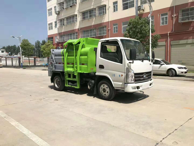 凯马餐厨垃圾车 5方泔水车价格 垃圾车厂家直销示例图5