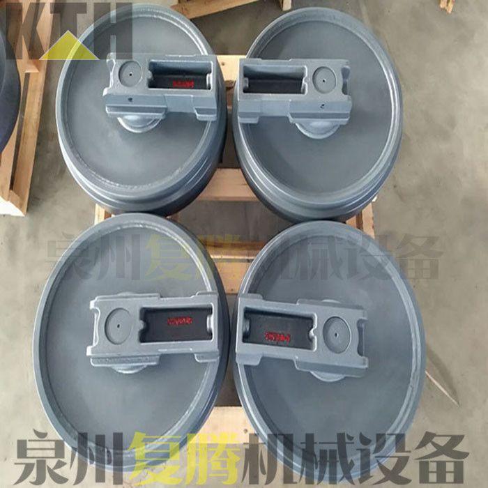產品適用于神鋼SK2008挖掘機配件滾鍛引導輪導向輪礦山質保一年圖片