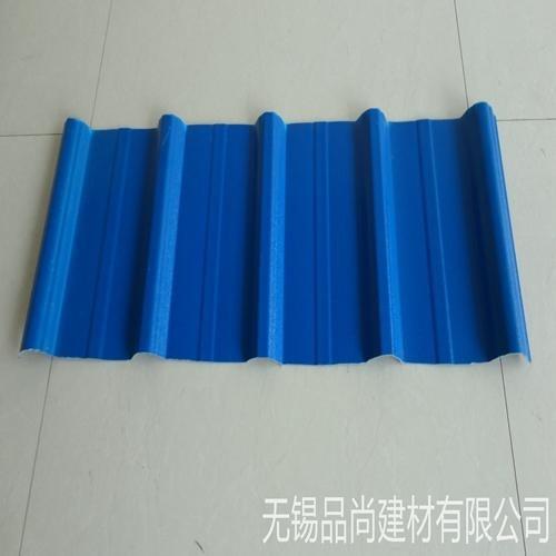 品尚pvc塑料瓦屋顶 隔热防腐塑钢瓦 厂房雨棚pvc瓦