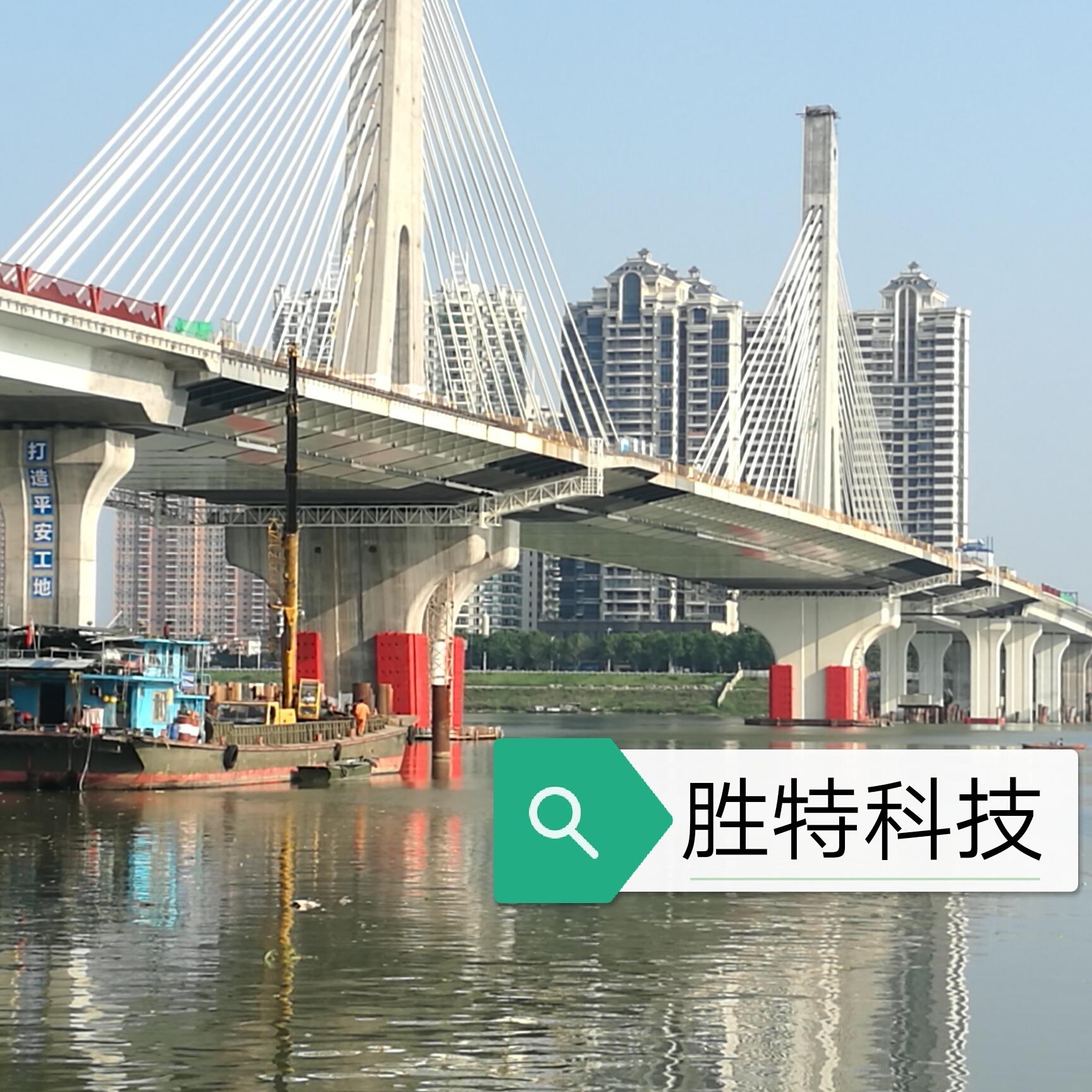 廣東省清遠市北江四橋復合材料防撞設施