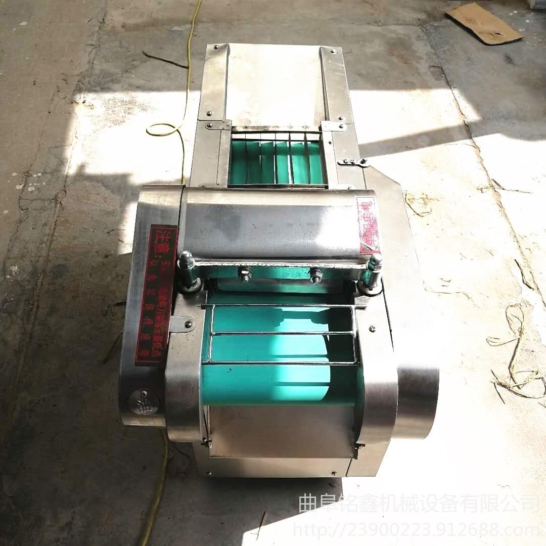 電動炊事設備不銹鋼切菜機 不銹鋼廚房多功能切菜機 辣椒海帶切絲機